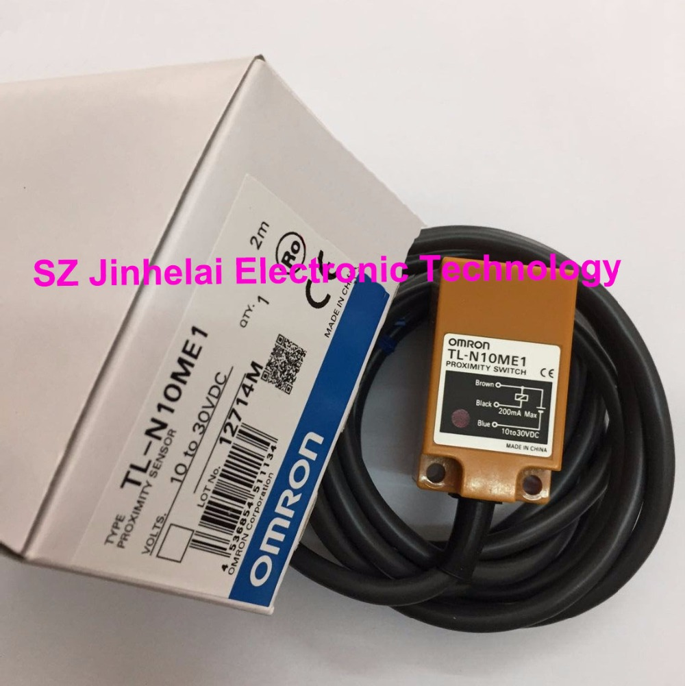 TL-N10ME1  New and original OMRON  Proximity sensor,Proximity switch, 2M  10-30VDC new and original e2e s05s12 wc c1 e2e s05s12 wc b1 omron proximity sensor proximity switch 10 30vdc