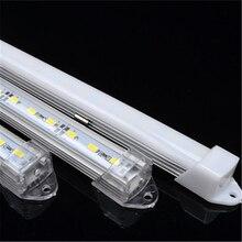 hot deal buy 10pcs  led bar lights 50cm/36leds   dc12v 5630/7020 led rigid strip 50cm led tube with u aluminium shell + pc cover