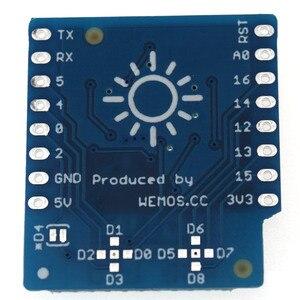 Image 2 - درع LED RGB V1.0.0 لـ LOLIN (WEMOS) D1 mini WS2812B 3535