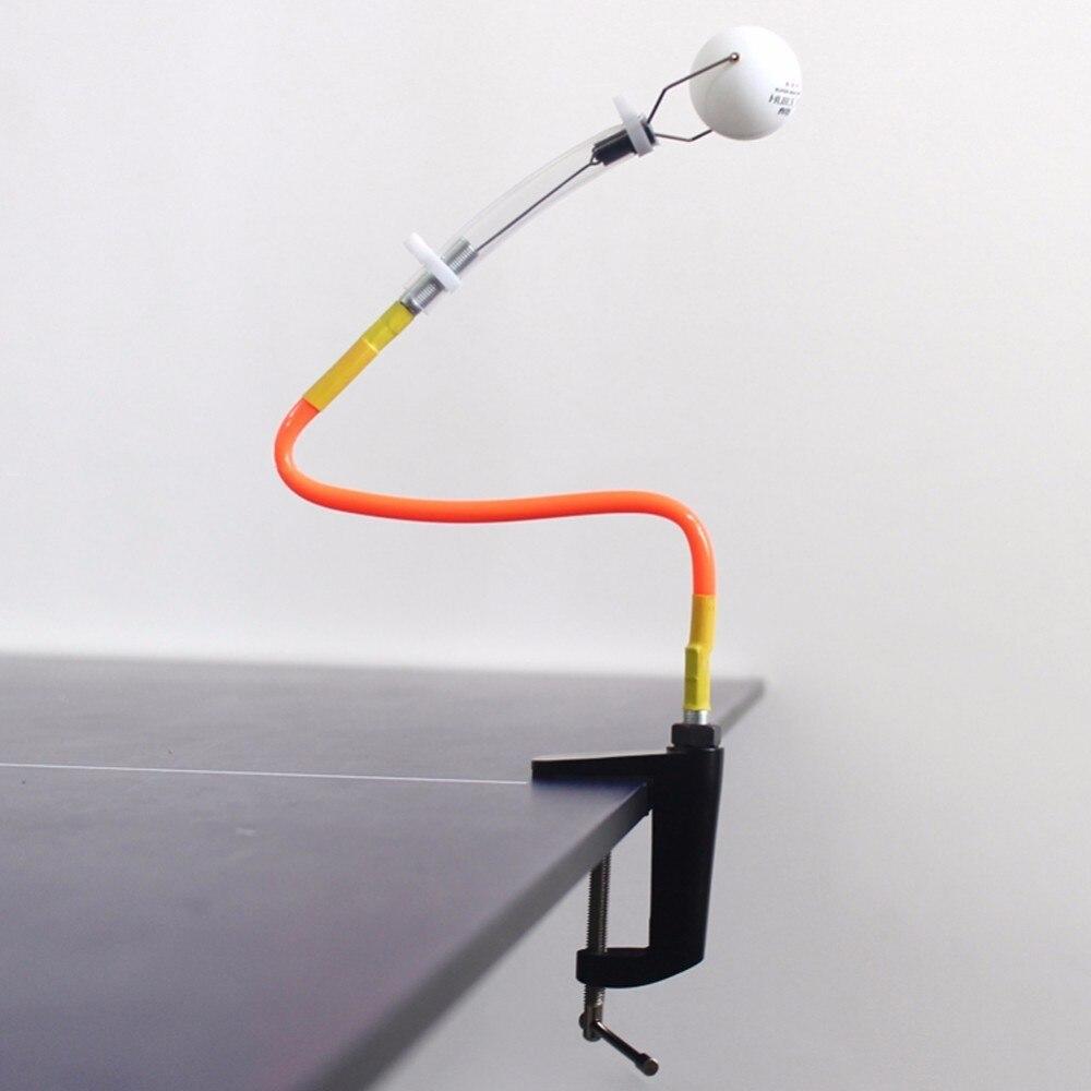 Professionelle Tischtennis Ausbildung Roboter Feste Schnelle Rebound Ping Pong Ball Maschine Tischtennis Trainer für Streichelte (2 Arten)
