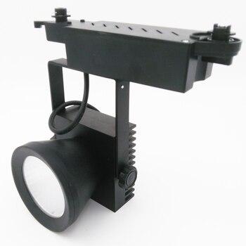 LED Track light COB 35W AC110-240V Track Lighting Retail Spot Wall Lamp Rail Spotlights Replace Halogen Lamps White/Warm white