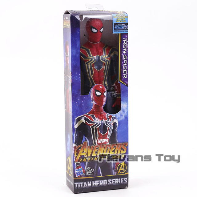 Marvel Avengers Infinity War Thanos Iron Spider Captain America Black Panther Hulk Action Figure