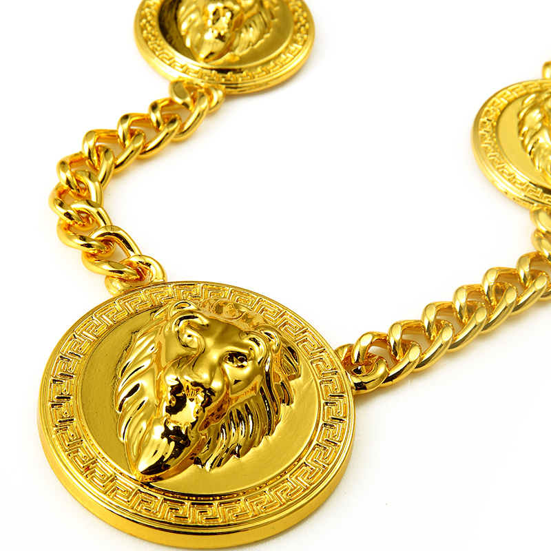 chain curb link real yellow cuban necklace products gold chains jewels universal