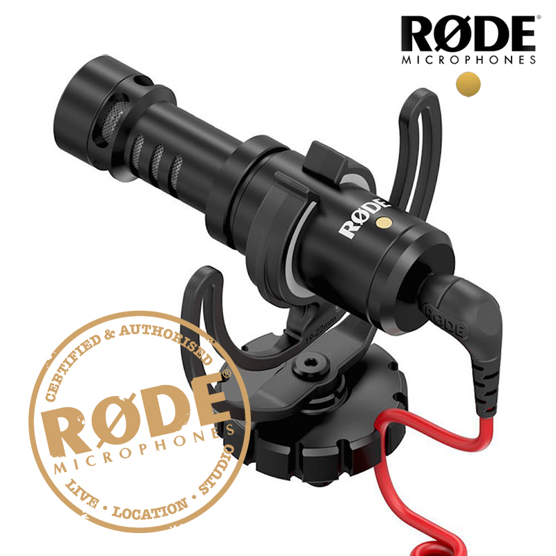 Rode VideoMicro Compact On-Camera Recording Microphone for Canon Nikon Lumix Sony Osmo DSLR Camera MicrofoneRode VideoMicro Compact On-Camera Recording Microphone for Canon Nikon Lumix Sony Osmo DSLR Camera Microfone