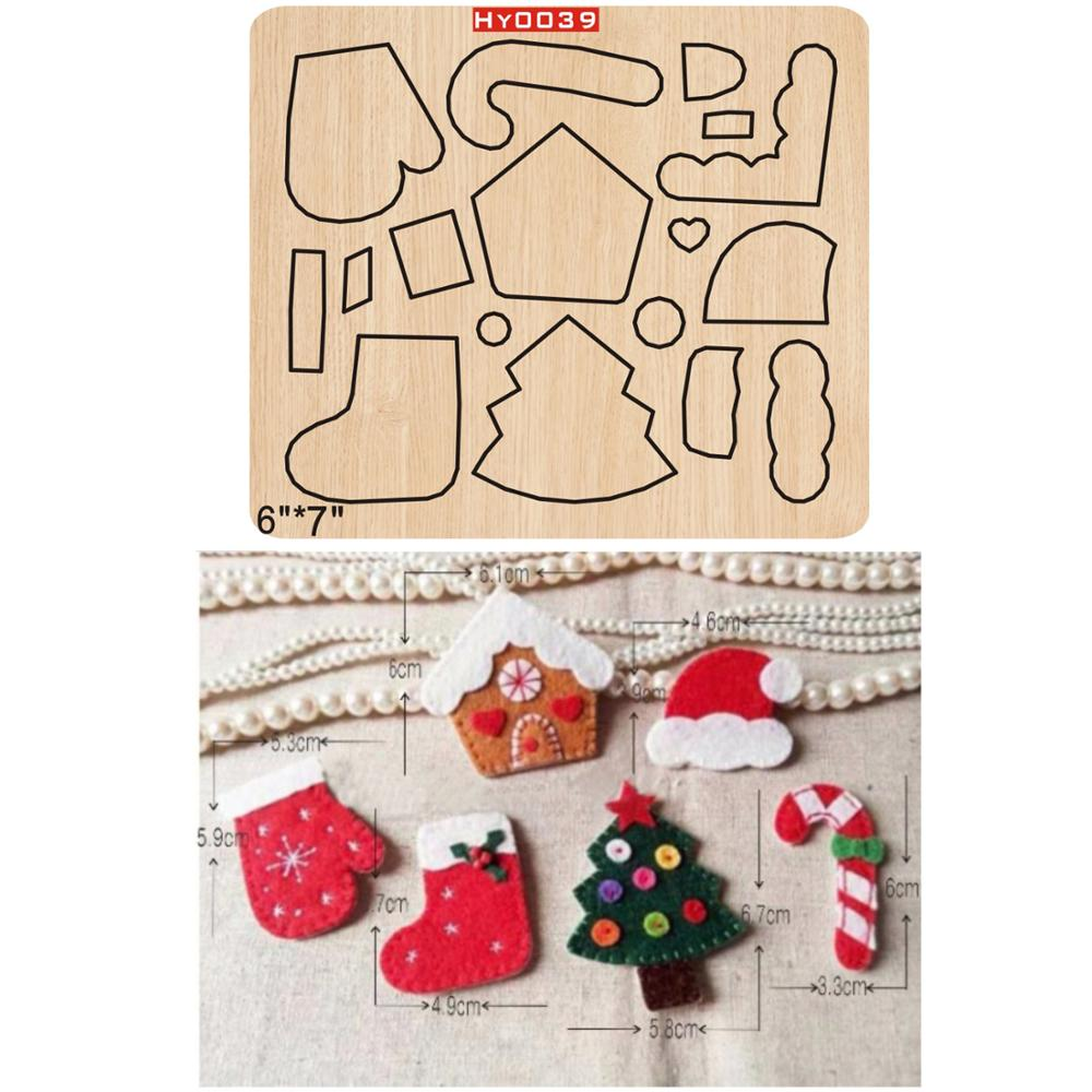 Christmas Pendant   2019 New Wooden Mould Cutting Dies For Scrapbooking Thickness/15.8mm