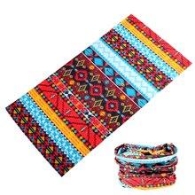 Mulheres listrado lenço de pescoço tubo capa balaclava bandana masculino buffe caminhadas anel cachecol kaffiyeh braga cuello bandana nuvem hijab