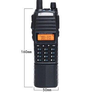 Image 2 - Baofeng UV 82 Plus talkie walkie 8W puissant 3800mAh batterie cc étendue UV82 double émetteur récepteur Radio bande PTT jambon Amateur UV 82