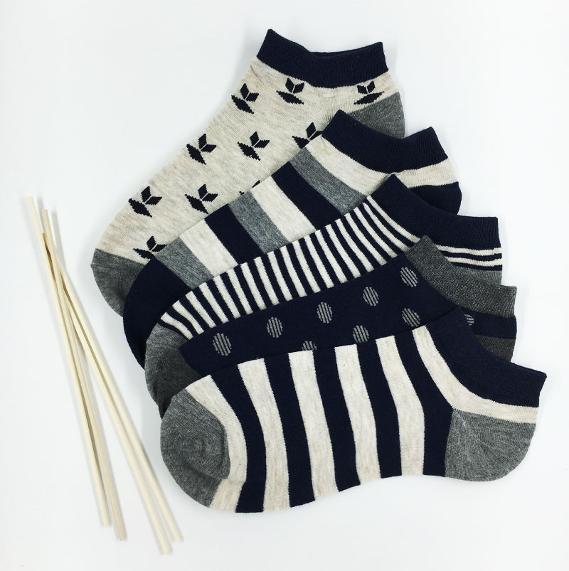5Pair New Style Summer Cotton Mens Socks Male Casual Low Cut Ankle Socks Men Short Brand Socks Male Colorful Dress Socks
