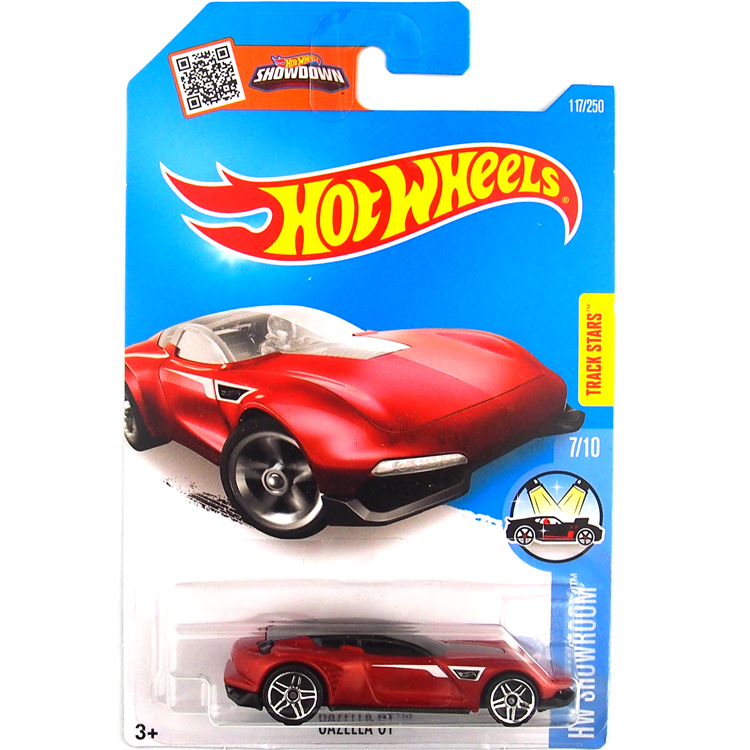 HotWheels Die-casts HW Showroom: Gazella GT/Toy/Mannequin Automobile/2016#117/250