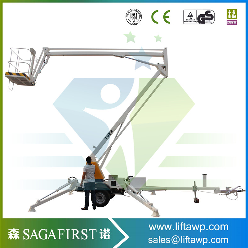 Mobile Lifting Truck Mounted Boom Lift