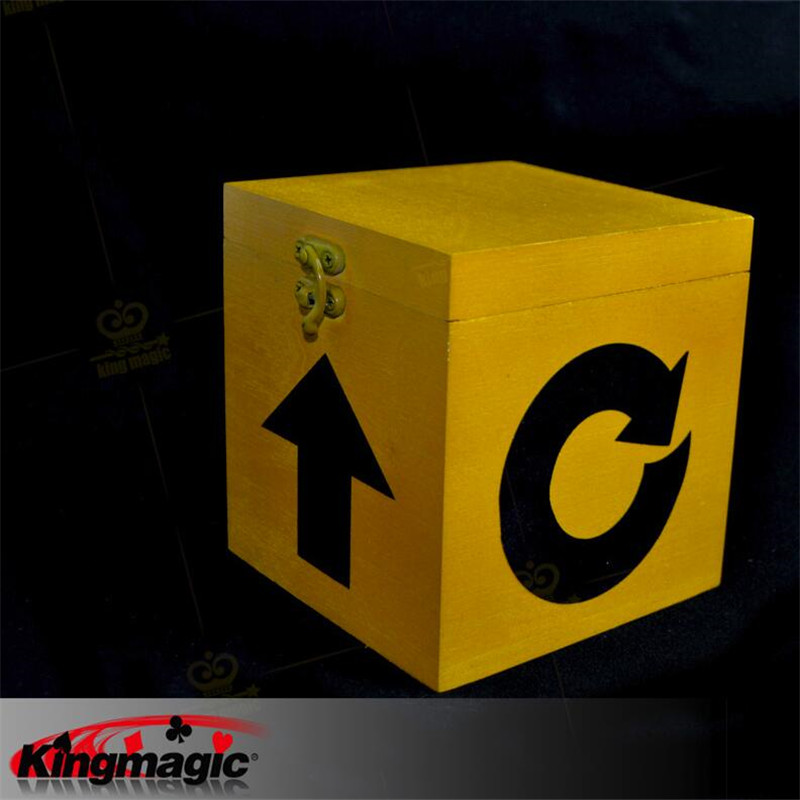 Mysterious Box Magic Tricks Free Shipping 2016 New Arrival Close up Street Magia free shipping magic tricks close up color pen prediction close up performance