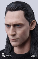1/6 Scale Avengers LOKI Rocky Head Carving Head Sculpt For 12inches Action Figure Male Body Collection TOYS 02
