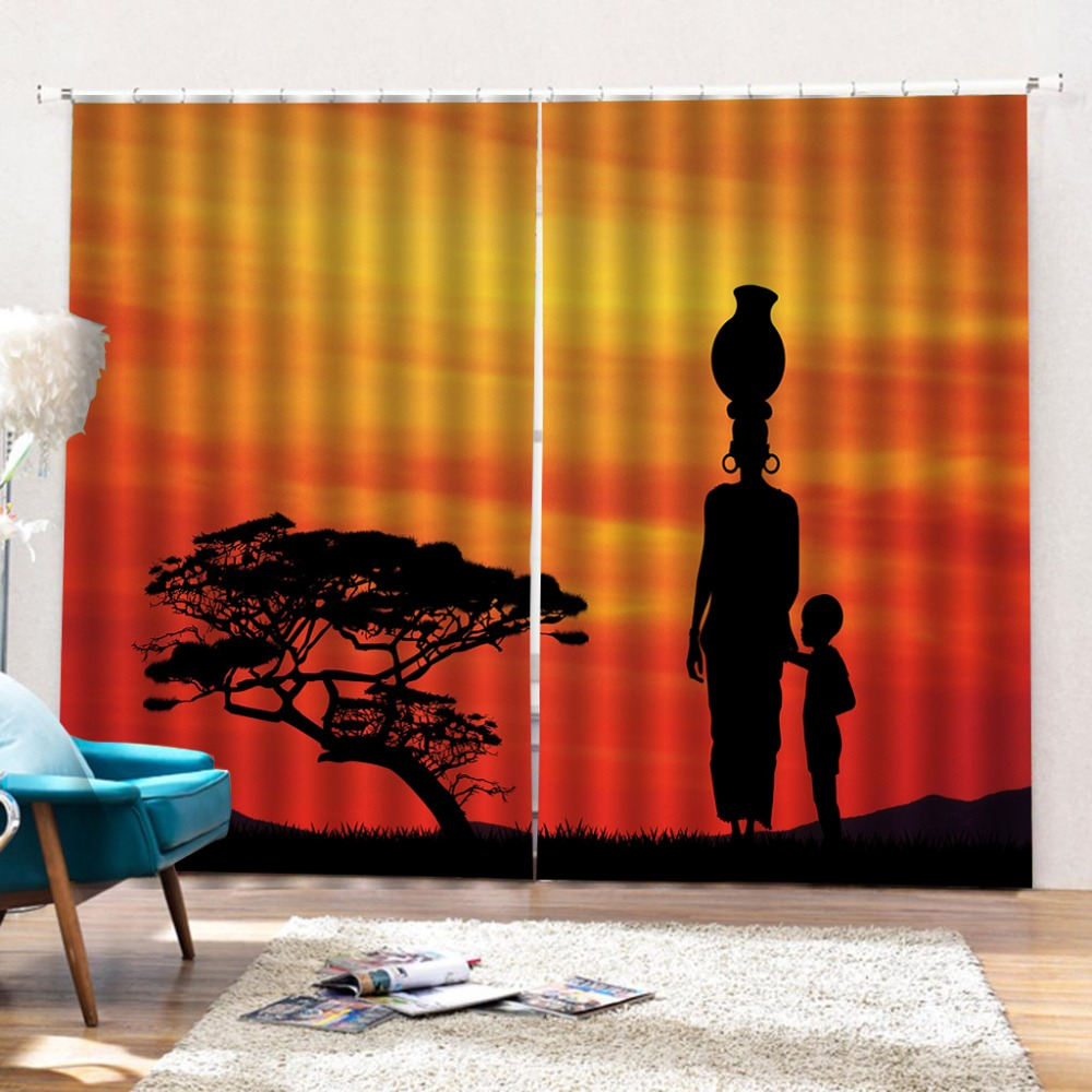 Stereoscopic Curtain Window Curtains Living Room Indian
