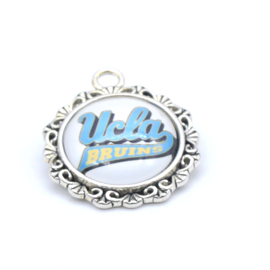 Pendant Accessories <font><b>UCLA</b></font> Bruins Charms Accessories for Bracelet Necklace for Women Men Basketball Fans Paty Fashion 2018 image
