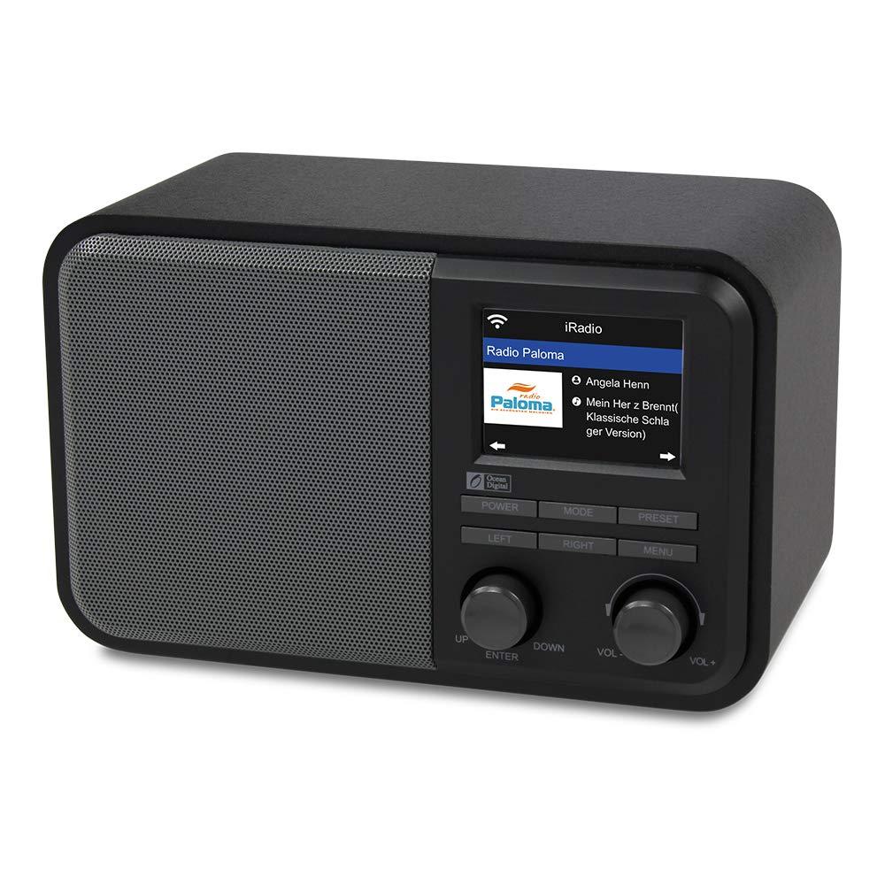 WiFi Radio Ocean Digital WR 330 Internet Radio Multi language Menu Blueetooth Intelligent radio
