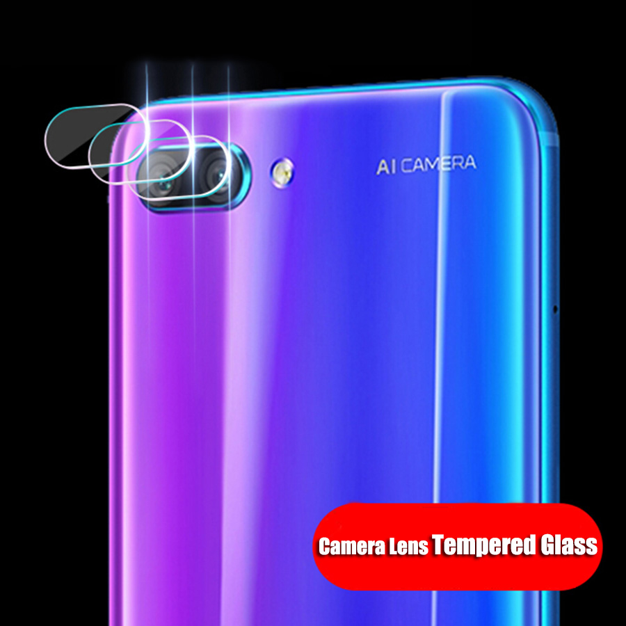 CHENCE Camera Lens Screen Protector Honor 10 Glass Back Cover Camera Lens Tempered Glass For Huawei Honor 10