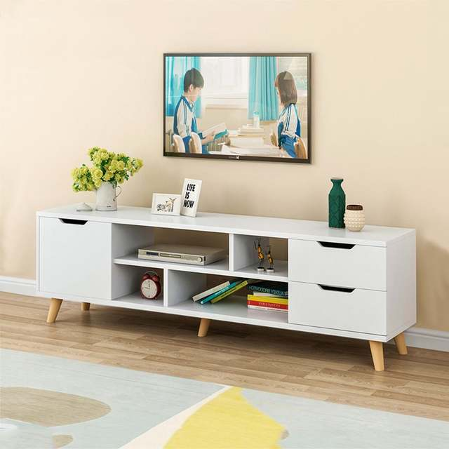 Furniture Modern Coffee Table Television Stands Living Room TV Stand With  Three Cabinet meuble tv stand living room furniture