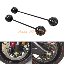 Motorcycle Front&Rear Axle Fork Sliders Crash Protector For BMW S1000XR 2015-2017 S1000RR 2010-2017 S1000R 14-17 HP4 12-14