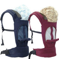 For 0 36Months Multifunctional Cotton Breathable Baby Carrier Baby Strap Backpack Carrier Children Carrier Front Carry