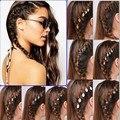 Fashion Vintage Hair pin Hair Clip Charm Leaf Star Shell Cross Fatima Hand Tassel Hair Band Hair Wear Head Pieces Boho Hair Ring