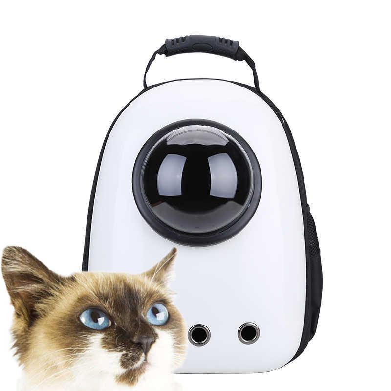 BarkMeow ใหม่แฟชั่นแมวสุนัข Pet Space Capsule กระเป๋าเป้สะพายหลัง Angel กระเป๋าเป้สะพายหลังบริสุทธิ์ความคงทนหายใจได้อย่างอิสระสำหรับเดินทาง 43*30*22 ซม. BM005