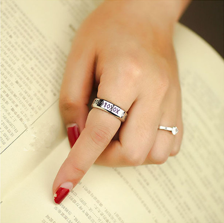 Kpop B A P Baby Date Anium Steel Ring Tail Infinity 8 5 Size Send Leather Cord Bo K Pop Anel Bap Men Women Jewelry On Aliexpress Alibaba