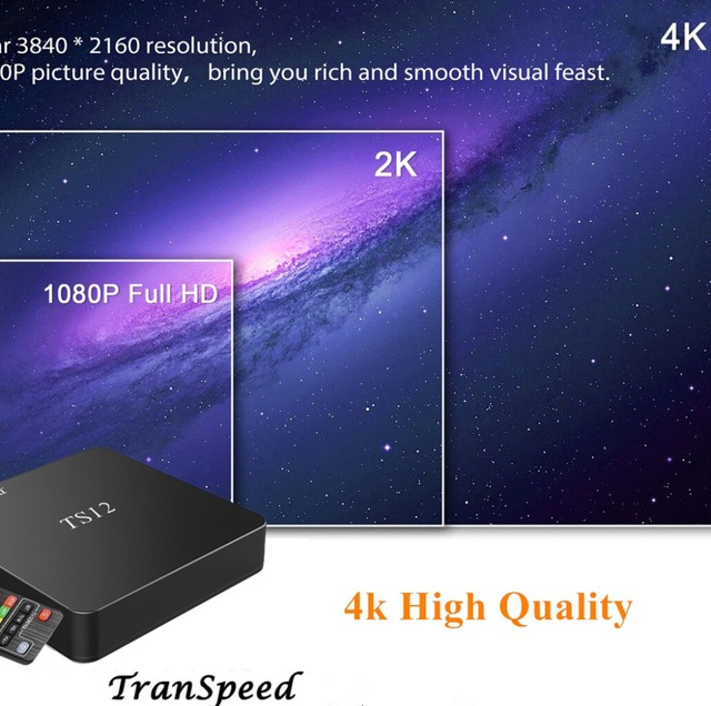Android 7.1 Amlogic S905W 2.4GHz 4K 3D Smart TV Box