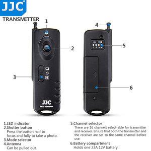 Image 4 - Jjc 카메라 셔터 릴리즈 16 무선 채널 433 mhz rf 무선 원격 컨트롤러 (pentax kp/K 70 용)