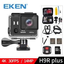 EKEN H9R plus A12 Ultra 4K 30FPS Wifi Action Camera 30M waterproof 1080p go Image H9Rplus Ambarella 14MP pro sport cam