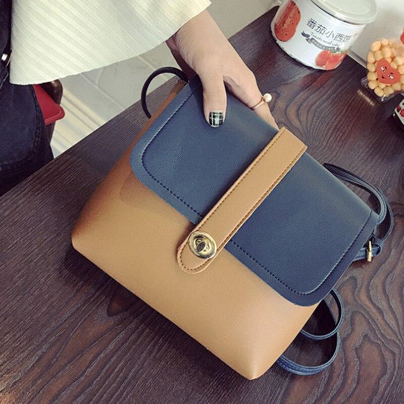 6fec0f889943 Купить на aliexpress Новые Брендовые женские сумки-мессенджеры Модные  женские кожаные сумки через плечо женские