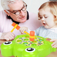 Funny Early Puzzle Education Baby Whac A Molele Hamster Attack Animal Shape Poke A Mole Electronic