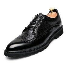 Plüsch Männer Business Kleid Oxfords Schuhe Klassische Marke Schuhe Städtischer Mann Warme Rindsleder Schuhe Winter Knöchel Martin Stiefel