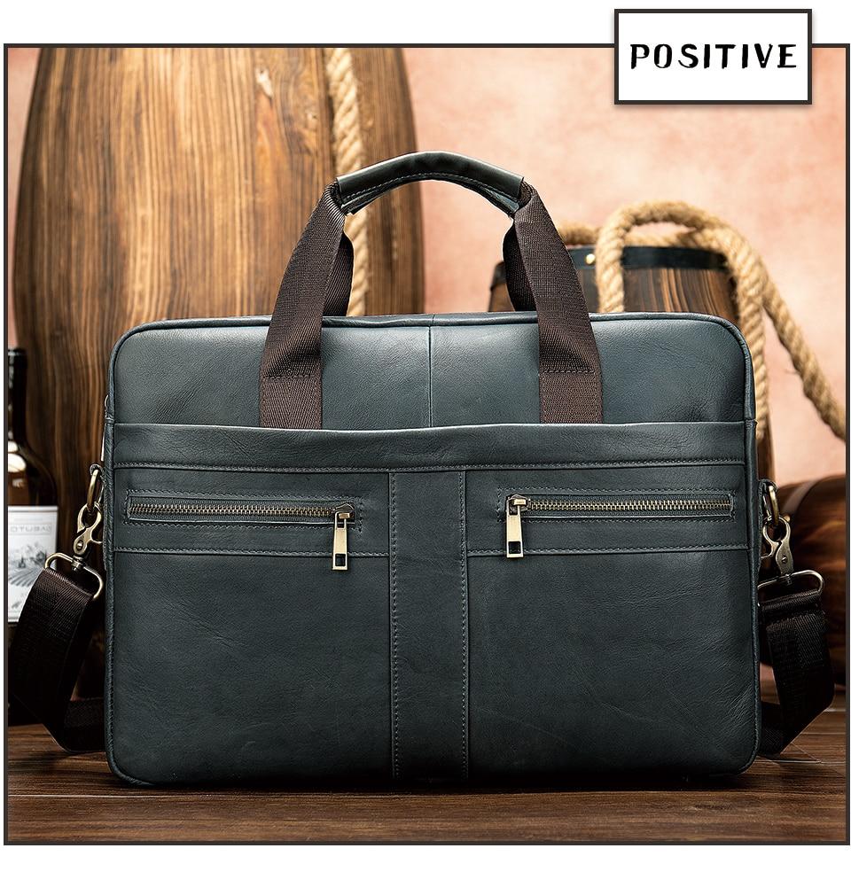 HTB1IQQRRzDpK1RjSZFrq6y78VXae WESTAL Bag men's Genuine Leather briefcase Male man laptop bag natural Leather for men Messenger bags men's briefcases 2019