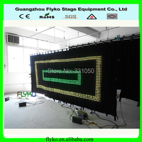 PC controller Free shipping P5 2M *5M concert stage background led display