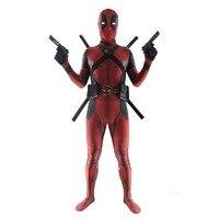 LMFC Deadpool Wade Wilson Cosplay Costume For Men Bodysuit Halloween Funny Adult Kids Clothing Unisex 3D