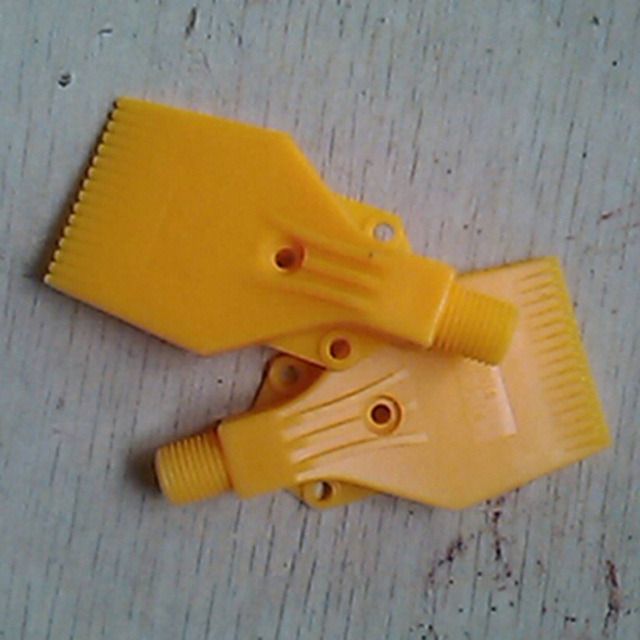 """free shipping ! ! ( 50 pcs/lot ) 1/4"""" BSPT Thread size, ABS Material, Flat Wind Jet Air Nozzles"""