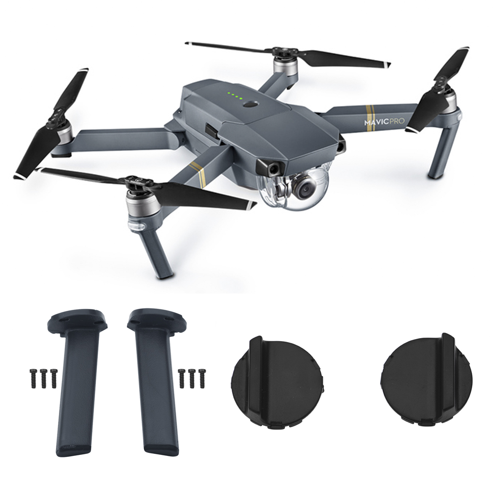 DJI Mavic Pro Left Right Landing Gear Back Leg Front Rear Feet Accessory for Mavic Pro Drone Motor Cover Base Mount Repair Kits