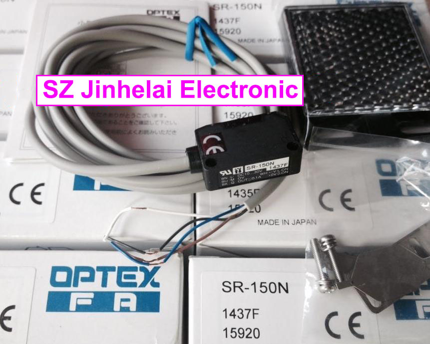 New and original SR-150N OPTEX PHOTOELECTRIC SWITCH Photoelectric sensor new and original vd 300 optex photoelectric switch photoelectric sensor