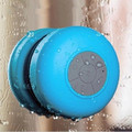 Portable Suction Shower Waterproof Wireless Bluetooth Speaker with Mic Car Handsfree Call Free Shipping + Track Number 12003035