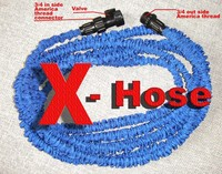 Free Shipping Thicken Inner Pipe 100 FT Garden Water Hose With A Valve Expandable Flexible Hose