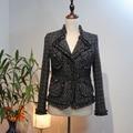 6xl plus size mulheres casaco de inverno, moda tweed casaco feminino, abrigos mujer elegante, jaqueta de mulheres incríveis, único casaco de lã escritório
