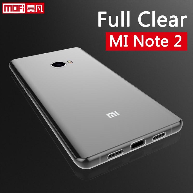xiaomi note 2 case xiaomi note 2 cover silicon soft back ultra thin mofi clear 5.7 xiaomi mi note 2 case xiaomi note 2 case