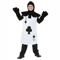 Kids Ace Of Clubs Costume Halloween Costume For Kids Boys Girls Costumes Children Guard The Queen