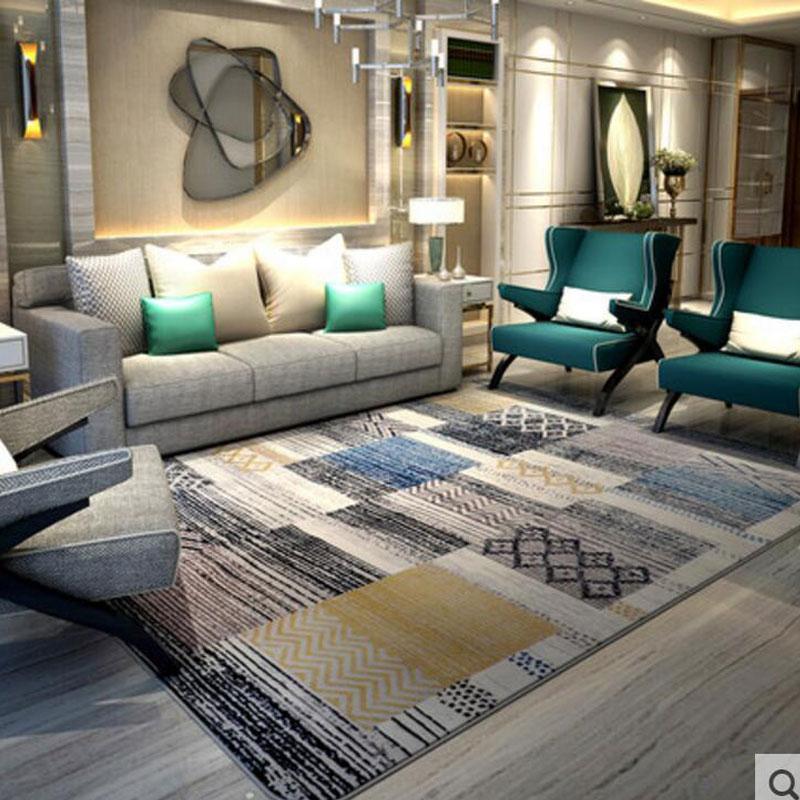 Tapis de mode 130X190 CM tapis japonais et coréen tapis de chambre/tapis de sol pour tapis de salon Alfombras Simple tapis de porte moderne