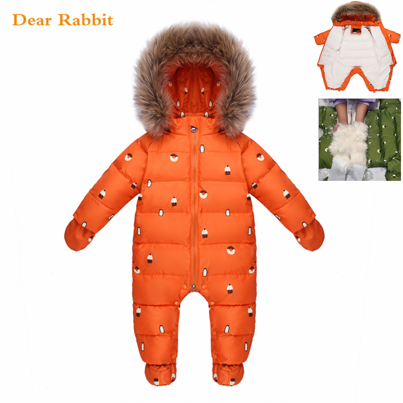 Designed for Russian winter jumpsuit baby girl clothes snowsuit 90% duck down jacket for girls coats Park infant boy snow wearDesigned for Russian winter jumpsuit baby girl clothes snowsuit 90% duck down jacket for girls coats Park infant boy snow wear