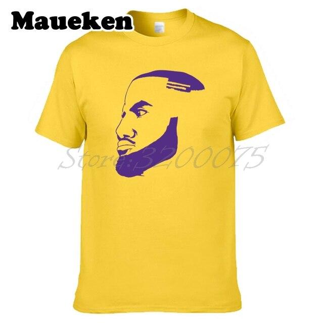 Men LeBron James 23 King James Outline Los Angeles T-shirt la Clothes T  Shirt Men s For Fans Silhouette Tee W18070106 97ec5a378