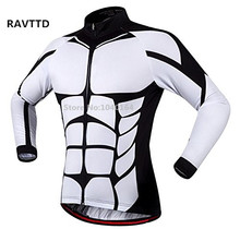 Hombres ciclismo jersey para bicicleta ciclo de manga larga jersey de la bicicleta chaqueta ciclismo clothing bike ropa deportiva ropa ciclismo