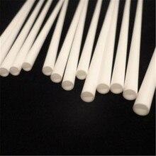 99.5%-Al2O3 высокотемпературная Корундовая трубка 20*2 мм/круглая одностворчатая алюминиевая трубка/изоляционная керамика для датчиков термопары