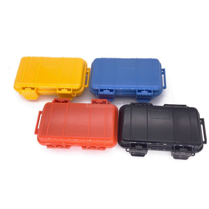 Airtight Shockproof Outdoor Storage Case Box for Flashlights Small Tools