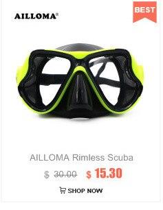 de respiração silicone mergulho snorkel subaquático natação para adulto